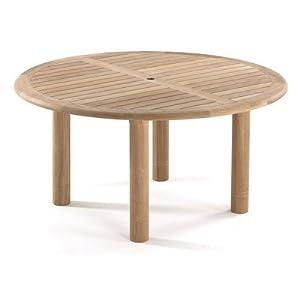 Teak Woodstock Round Dining Table Size: 150cm W