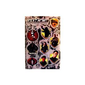 G.I.JOE The Rise of Cobra ` 42 Stickers - 1
