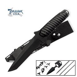 Ninja Warrior Tanto Knife