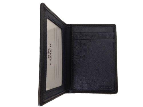 Coach  Coach HPC Slim Passcase ID Credit Card Case Wallet - Navy/Storm Blue F74580