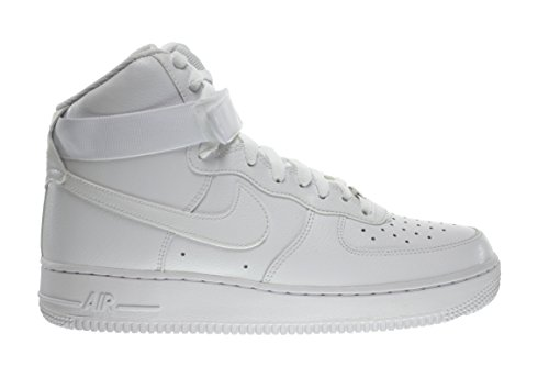 Nike Air Force 1 High '07 Men's Shoes White/White 315121-115 (13 D(M) US) (High Top White Air Force 1 compare prices)