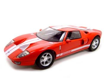 Buy Ford Gt Concept Red 1:12 Diecast Model