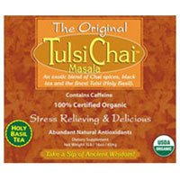 Tulsi Tea Chai Masala, 1 Lb by Organic India (Pack of 2)