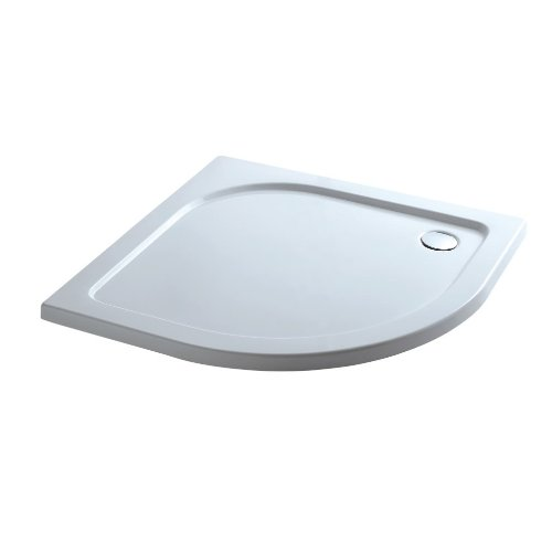 Quadrant 900x900mm Stone Shower Enclosure Tray