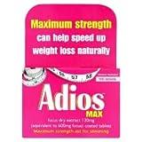 Adios Max Herbal Slimming Tablets - 100