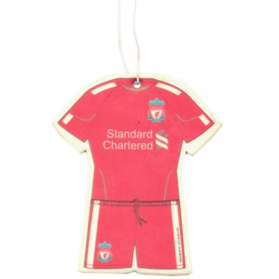 Liverpool FC Kit Air Freshener – Football Gifts