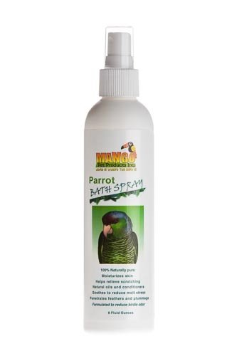 8 Oz Parrot Bath Spray Bird Toy Parts Parrots