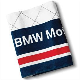 Racing Apparel for Sale  BMW Genuine Logo Motorsport Towel   Blue