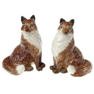 At home in the country - Foxes Salt and Pepper Set by At home in the country