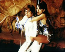 Buy Signed Austin Powers (Mike Myers Elizabeth Hurley) 8x10 By Mike Myers and Elizabeth Hurley... by Powers Collectibles LLC