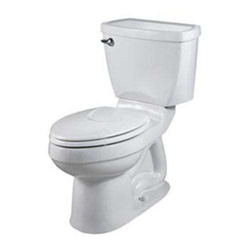 American Standard 2018.214.020 Champion-4 Elongated Combination Two-Piece Toilet, White