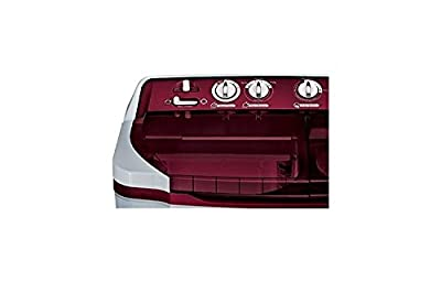 LG P7853R3SA Semi-automatic Top-loading Washing Machine (6.8 Kg, Burgundy)