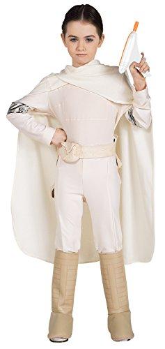 [Star Wars Deluxe Padme Amidala Costume, Medium] (Padme Amidala Halloween Costumes)