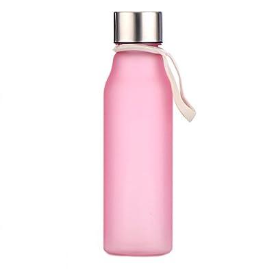 VOULOIR 500ml Food Grade Plastic Shatterproof Water Bottle BPA Free