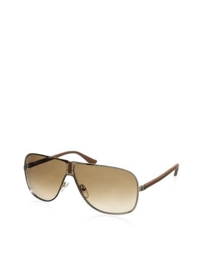 Salvatore Ferragamo Women's SF102SL Sunglasses, Shiny Gold