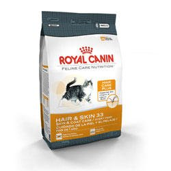 Image of Royal Canin Feline Care Nutrition Hair and Skin 33 Dry Cat Food