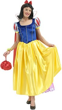 Snow White Deluxe Fancy Dress Costume - Disney Princess (adult size 10-12)