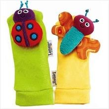 EZ Life Ez Life Lamaze Foot Finders Rattle Socks
