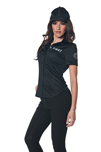 Underwraps Women's Plus-Size Swat Fitted Shirt