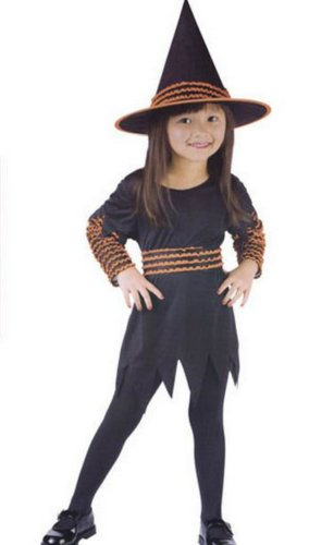 Witch Pumpkin Patch Toddler Costume 3T-4T - Toddler Halloween Costume