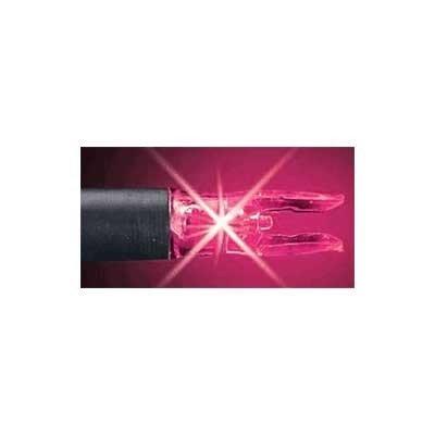 Nockturnal S Lighted Nocks (Pack Of 3), Pink