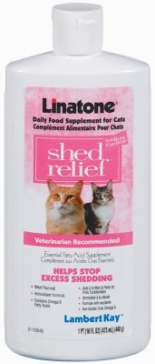Lambert Kay Linatone Shed Relief Cat Supplement 16 Oz