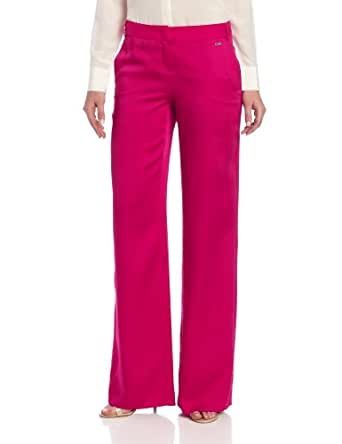 Escada Sport Women's Thetwig Woven Pant, Red, 2
