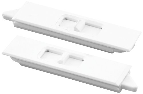 Prime-Line Products F 2734 Window Mortise Tilt Latch, 1 Pair, White,(Pack of 2)