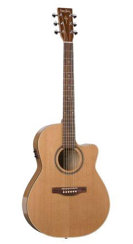 simon patrick cutaway gt folk acoustic electric guitar cedar a3t discount guitars for sale. Black Bedroom Furniture Sets. Home Design Ideas