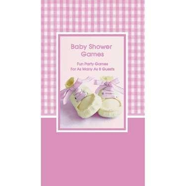 Baby Girl Shoes Shower Game - 1