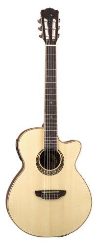 luna muse nylon string acoustic electric guitar used guitars for sale. Black Bedroom Furniture Sets. Home Design Ideas