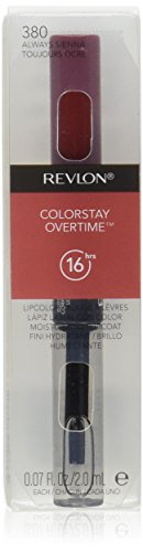 Revlon Colorstay Overtime Lipcolor, Always Sienna, 0.07 Ounce (Colorstay Lip Color compare prices)