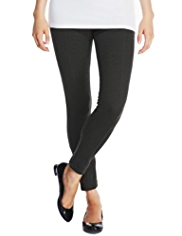 Indigo Collection Seam Panel Ponte Leggings