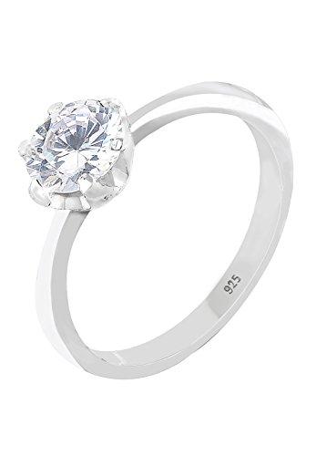 Elli Damen-Ring Klassik Größe 54mm 925 Sterling Silber 06400584