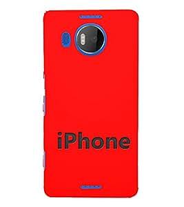 EPICCASE I phone Mobile Back Case Cover For Microsoft Lumia 950 XL (Designer Case)