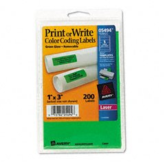 AVE05494 - Self-Adhesive Removable Labels
