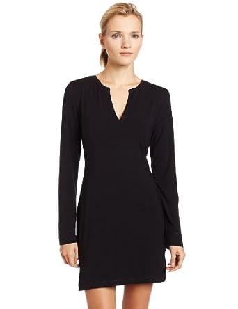 f2d5c00dcd Calvin Klein Women s Essentials Long Sleeve Night Dress