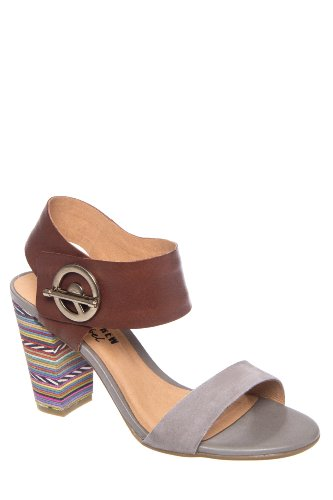 Chelsea Crew Princess High Block Heel Ankle Cuff Sandal