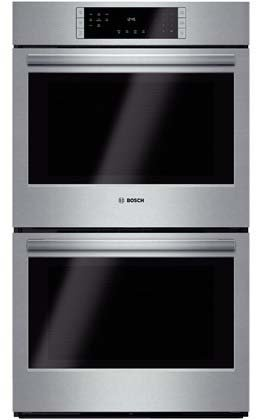"Bosch Hbl8651Uc 800 30"" Stainless Steel Electric Double Wall Oven - Convection front-37297"