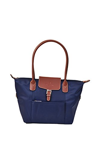 Shopping bag Hexagona spalla donne della gamma Cabas (blu)