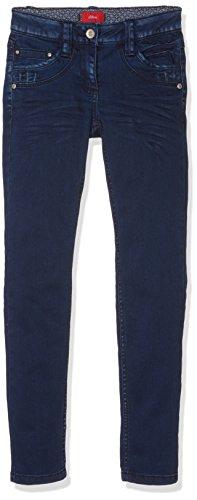s.Oliver 66.610.71.2301, Bambina, Blu (Blue Denim Stretch 56Z8), (Taglia Produttore: 140/SLIM)