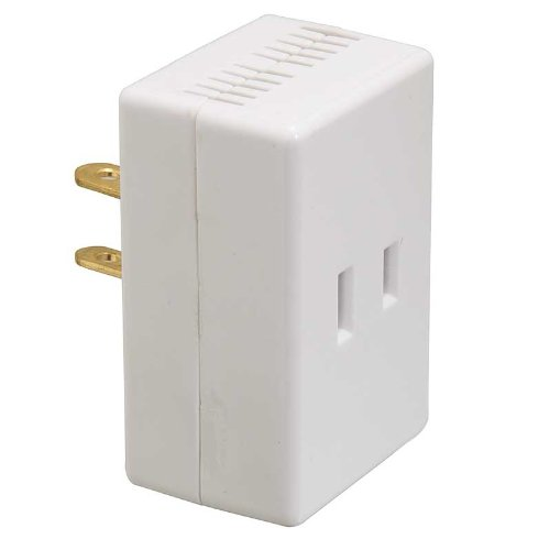 Westek 6004B 200W 3-Level Touch Lamp Plug-In Dimmer, White