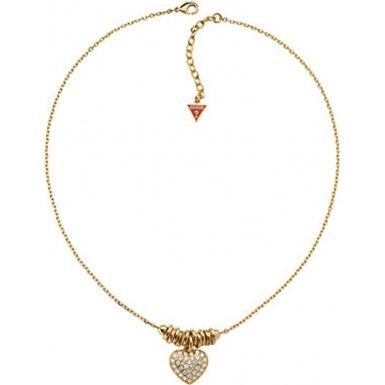Guess UBN11315 - Catenina con pendente da donna, metallo placcato oro