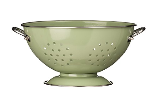 Premier Housewares 0507881 Passoire Rétro Email Vert Clair