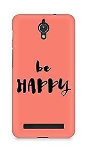 AMEZ be happy Back Cover For Asus Zenfone C ZC451CG