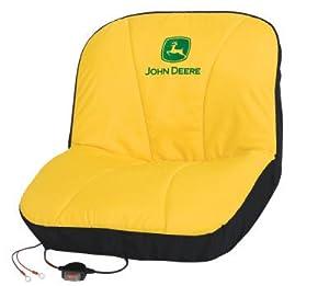 john deere original heated seat cover lp21787 lawn mower covers patio lawn. Black Bedroom Furniture Sets. Home Design Ideas