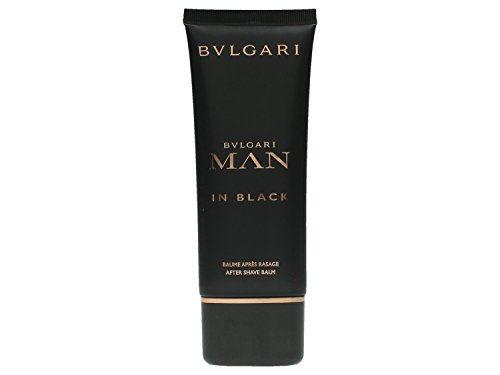 Bvlgari Man in Black Dopo Barba Balm, Uomo, 100 ml
