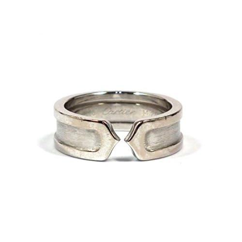 (カルティエ)Cartier  C2リング ホワイトゴールド 指輪[中古]