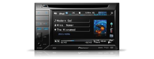 Pioneer AVH-2300DVD 5.8 inch Double Din Widescreen Touch Screen AV Headunit for iPod/USB - Navi Ready