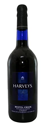 HARVEYS Bristol Cream Sherry 75cl Bottle